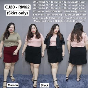 CJ20 Ready Stock  * Waist 73-140cm