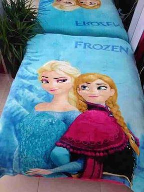 Frozen Blanket - Anna Elsa Blue