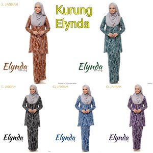 Kurung Elynda (5XL -6XL)