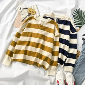 Korean Stripes Sweatshirt