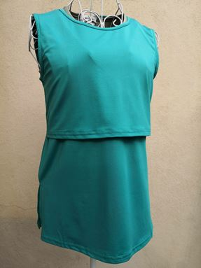 Sleeveless Nursing Inner (Petronas Green)