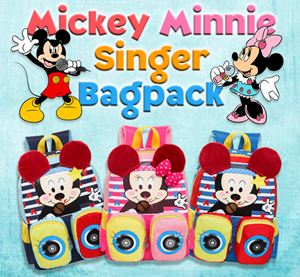 Mickey Minnie Singer Bagpack