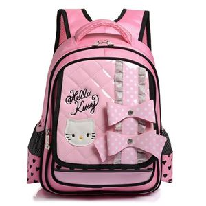 HELLO KITTY SCHOOL BACKPACK (PINK AND BLACK)