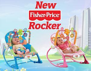 NEW FISHER PRICE ROCKER