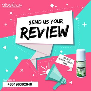 REVIEW & GET FREE ALOE VERA OIL