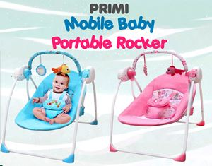 PRIMI Mobile Baby Portable Rocker (Timer & Music)