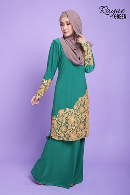 RAYNE LACE SERIES- GREEN