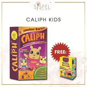 CALIPH Kids Supplement FREE Pastil