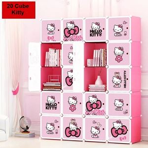 20 CUBE KITTY wardrobe