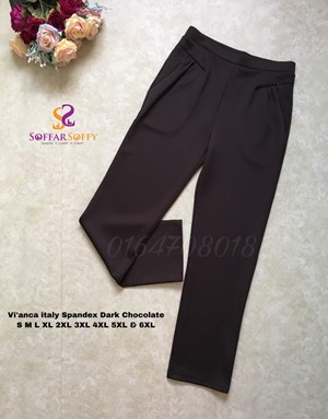 VIANCA ITALY SPANDEX  DARK CHOCOLATE