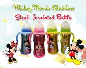 MickeyMInnie Stainless Steel Insulated Bottle
