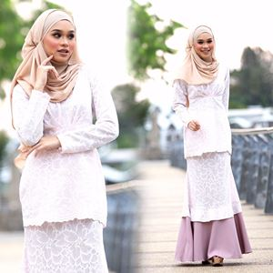 BAJU KURUNG JASMIN DUSTY PURPLE