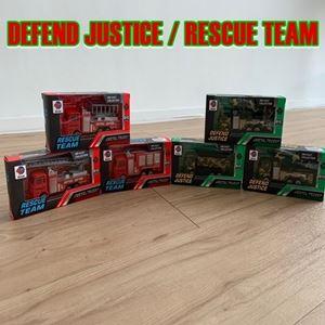 DEFEND JUSTICE / RESCUE TEAM ETA 22 MARCH 19
