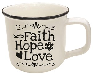 Mug - Faith, Hope, Love