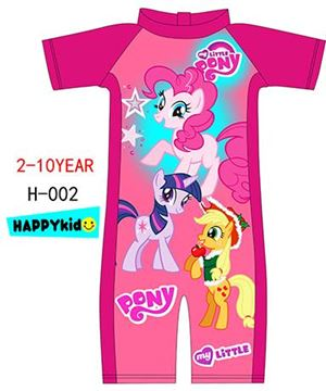 **  H-002 LITTLE PONY PINK SWIMSUIT ( READY STOCK )  **