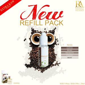 REFILL PACK 20ml - Extra Kaw Coffee
