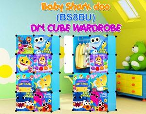 Baby Shark Doo BLUE 8C DIY WARDROBE (BS8BU)