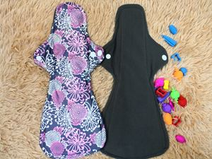 Cloth Pad - Floral ( Be Gentle ) Size XL