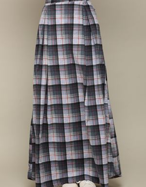 SHERLY CHECKED SKIRT