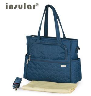 Original Insular Diaper Shoulder Bag - Turquoise