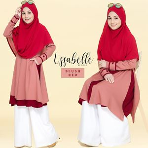 BLOUSE ISSABELLE - BLUSH RED