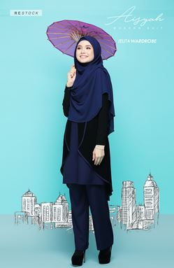 AISYAH SUIT 05 (DARK BLUE)