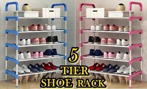 5 TIER SHOE RACK ETA 1 MARCH 19