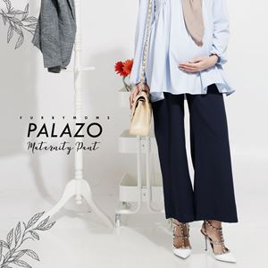 Maternity Palazo Pant - Dark Blue