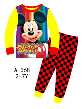 A-368 'Mickey Mouse' Pyjama (2 - 7 tahun)
