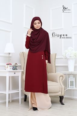 QISYAA ( Ruby Red )