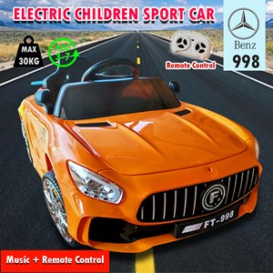 Electric Children Ride On mercedes benz 998 Sport Car s Remote Rechargeable