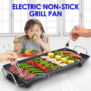 ELECTRIC NON STICK GRILL PAN
