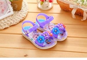 Purple Frozen Sandal