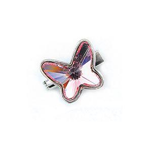 Brooch Butterfly Luxe Light Rose