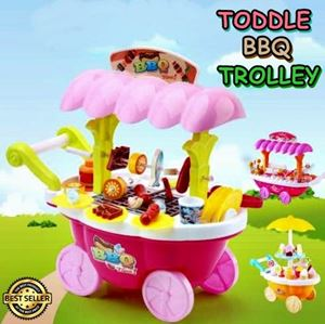 TODDLE BBQ TROLLEY