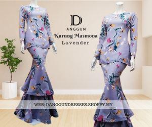 Kurung Masmona Lavender