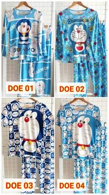 Pyjamas Dewasa Doraemon