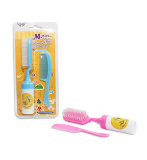 BEE SON - Musical Baby Hair Brush & Comb Set