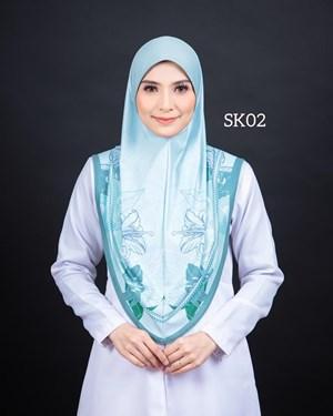 Tudung Sarung Siti Khadijah Berbatu (SK02)