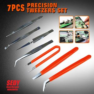 7 PIECE PRECISION  TWEEZER