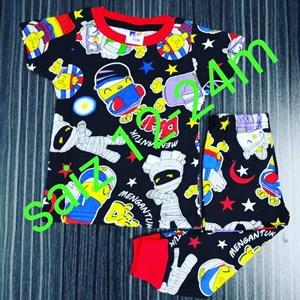Pyjamas Viral (Didi n Friends : SLEEPY MUMMY ) Size Baby hingga 12 tahun