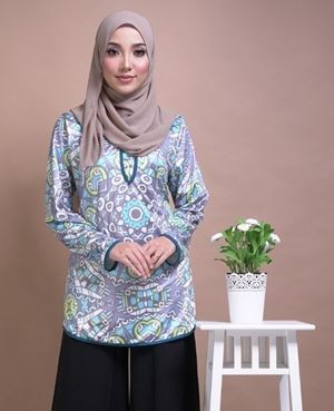 Majestic Blouse MB13 - Size Big Only