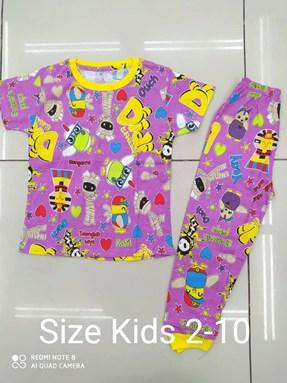 Pyjamas  DIDI AND FRIENDS PURPLE : KIDS size 2 - 10