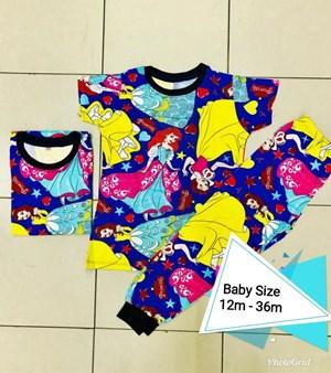 Pyjamas DISNEY PRINCESS : BABY size 18m