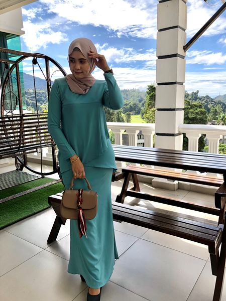IRIS KURUNG MINT GREEN (NEW)