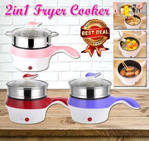 2in1 Fryer Cooker