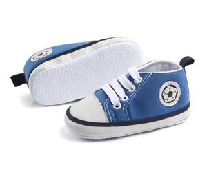 SKY BLUE BABY PREWALKER SHOES