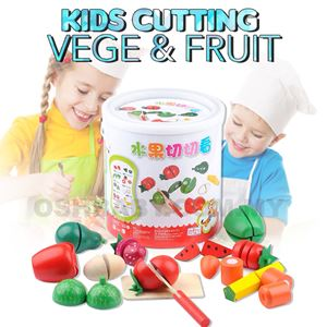 KIDS CUTTING VEGE & FRUIT