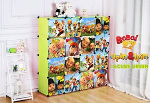Boboboi/Upin&Ipin 16C Green DIY Wardrobe (BB16G)