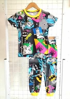 Pyjamas BATMAN RETURN BLACK : BABY 12M - 18M (GL)